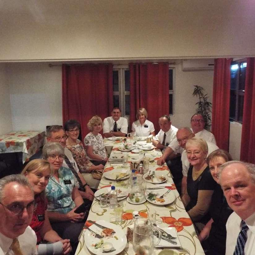 Terry's Farewell Dinner 2015
